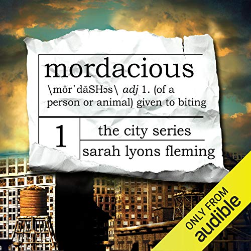 Mordacious audiobook cover art