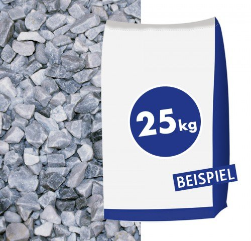 Hamann Mercatus GmbH Marmorsplitt Ice Blue 8-16mm 25kg Sack