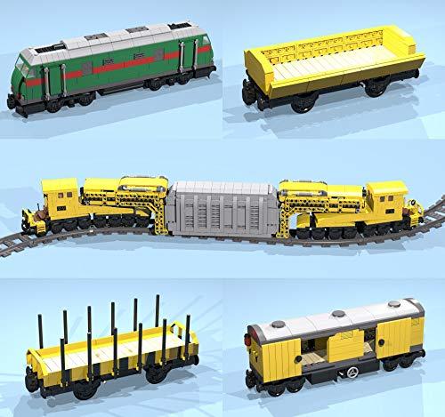 Heavy Transformer Transport Train: LegoR MOC building