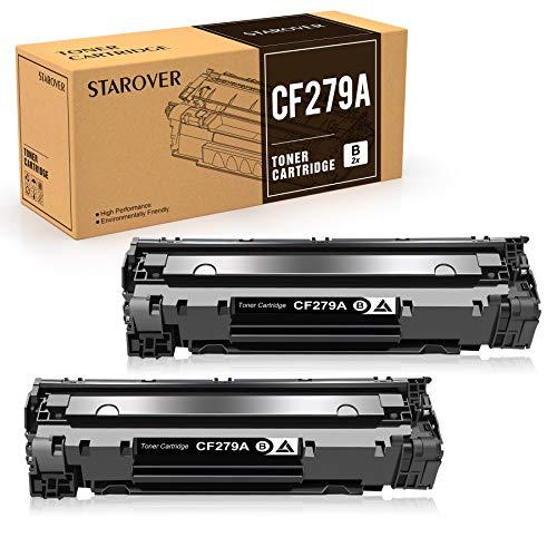 STAROVER Cartuccia di Toner Compatibile Ricambio per HP 79A CF279A per HP LaserJet Pro MFP M26 M26nw M26a HP LaserJet Pro M12 M12w M12a Stampante (2 Nero)
