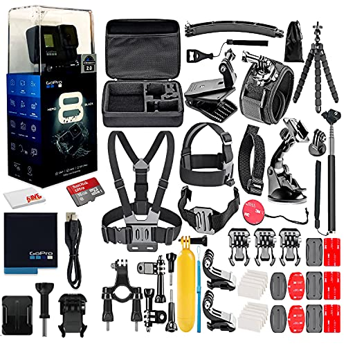 GoPro HERO8 Black Digital Action Camera - Waterproof, Touch Screen, 4K...