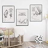Winnie The Pooh Zitate Leinwand Poster und Drucke