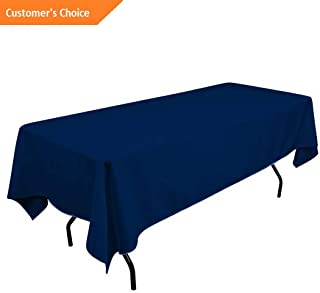 Kaputar 5 Pack 60 x 102 inch Round Wedding Polyester Table Cover Wedding Table Cloth | Model TBLCLTH - 149 |