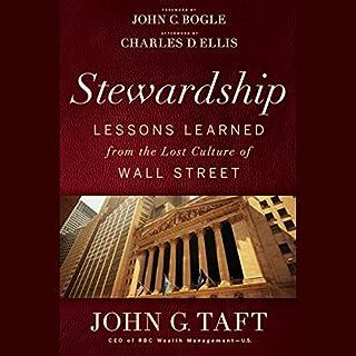 Stewardship     Lessons Learned From the Lost Culture of Wall Street              Di:                                                                                                                                 John G. Taft,                                                                                        John C. Bogle (foreword)                               Letto da:                                                                                                                                 Richard Fish                      Durata:  6 ore e 3 min     Non sono ancora presenti recensioni clienti     Totali 0,0