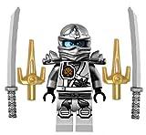 LEGO New Ninjago Titanium Ninja MINIFIG Zane Figure Minifigure 70748