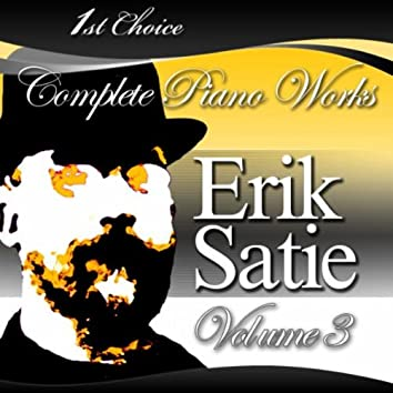Erik Satie - Complete Piano Works, Volume 3