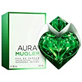PROFUMO DONNA THIERRY MUGLER AURA 90 ML EDP 3 OZ 90ML THE REFILLABLE STONES RICARICABILE EAU DE PARFUM SPRAY 100% ORIGINAL