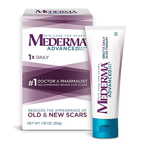 Mederma Advanced Scar Gel - 1x Daily - Reduces the Appearance of Old & New Scars - #1 Doctor &...