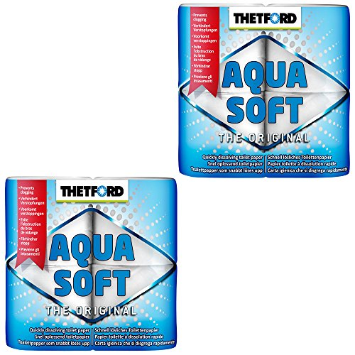 Thetford 2X Camping Toilettenpapier Aqua Soft WC Papier