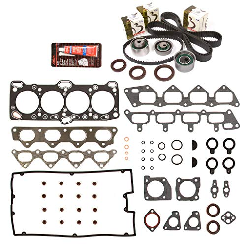 Evergreen HSTBK5007 Head Gasket Set Timing Belt Kit Compatible with/Replacement for 93-98 Plymouth Eagle Mitsubishi 4G63 4G63T