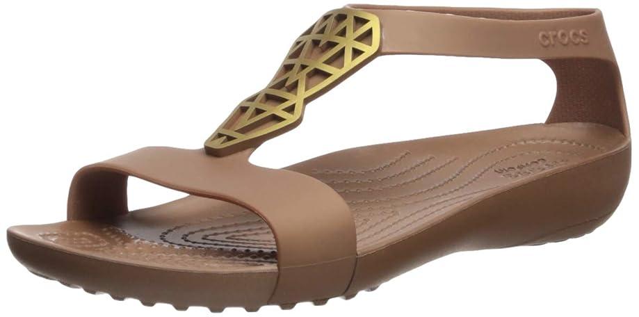 Crocs Women's Serena Embellished Flat Sandal