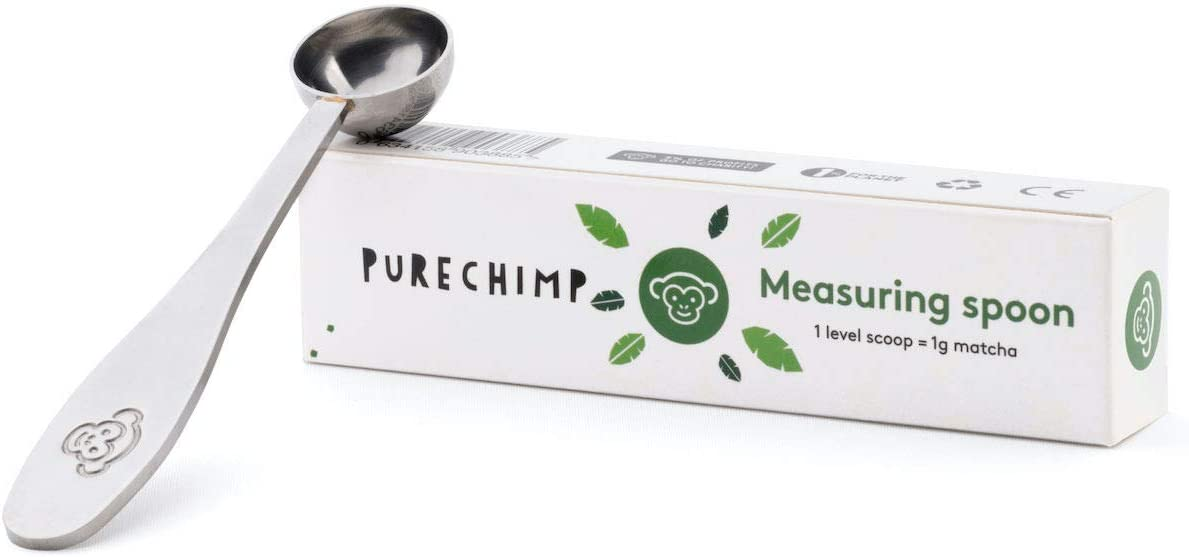 Excellence Max 57% OFF Matcha Green Tea Measuring Spoon Scoop 1g PureChimp Serving by -