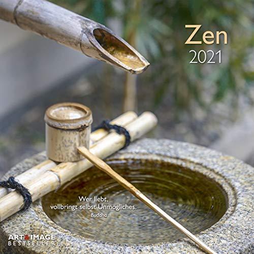 Zen 2021 - Wand-Kalender - Broschüren-Kalender - A&I - 30x30 - 30x60 geöffnet
