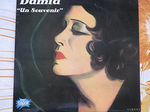 """2 Disques Vinyle LP 33 Tours - EMI 12756 - Damia : """"Un Souvenir"""" : Rue de la Joie, Quand c'est lui, Tu ne sais pas aimer, Berceuse Tendre, La Veuve, La Chaine, J'ai bu, Chanson de Fou, La Suppliante, Mauvaise Prière, Pluie, L'étranger, Moi je m'ennuie, C'est dans un caboulot, Johnny Palmer, Un souvenir, Pluie, Tout fout l'camp, Le vent m'a dit une Chanson, Rue de notre Amour, Je voudrais dormir une nuit, Depuis que les Bals sont fermés, Balalalïka.- (2 disques vinyle 33t LP)"""
