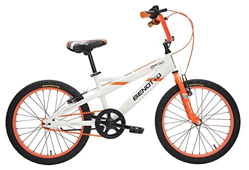 Benotto CRHDIA2001UNBL Bicicleta de Acero Rodada R20, Niño, Frenos V, 1 Velocidad