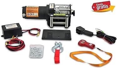 X-BULL Cabrestante el/éctrico 12v 5900Kg 13000Lbs Winch Cuerda Sint/ético 4x4//recuperaci/ón Ina /…
