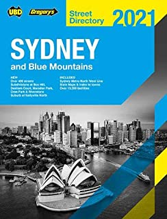 Sydney & Blue Mountains Street Directory 2021 57th ed: Including Truckies