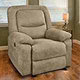 Best Electric Recliners - MAGIC UNION Overstuffed Fabric Electric Recliner Chair Heated Review