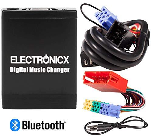 USB SD MP3 Aux Adaptador Cambiador CD 8Pin para Renault Radio Tuner Update