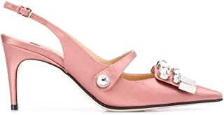 SERGIO ROSSI Luxury Fashion Womens A81190MFN3675704 Pink Heels | Fall Winter 19