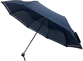 CAFEDIMLY(カフェディムリー)あなたの心を元気にしてくれるアンブレラ 心に響く8つのフレーズでモチベーションUP間違いなし 自己啓発 メンズ傘 折りたたみ傘 ネイビー 親骨55cm 風に強くて丈夫な8本骨使用