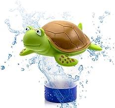 Eksesor Dispensador de Cloro, Dispensador Flotante de Gran Capacidad, Dispensador de Cloro de Piscina de Tortugas, para Limpiador de Piscina o SPA de bañera de hidromasaje