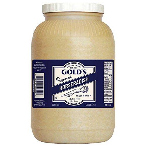 Golds White Horseradish, 1 Gallon -- 4 per case.