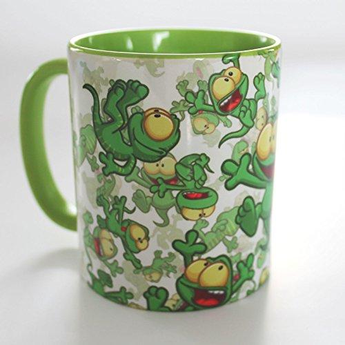 getshirts - Gronkh Official Merchandising - Tasse Color - Lurchregen - hellgruen Uni