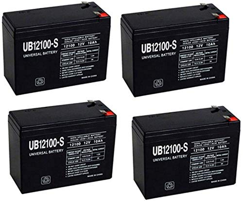 Universal Power Group 12V 10AH Replacement for Currie eZip Trailz...