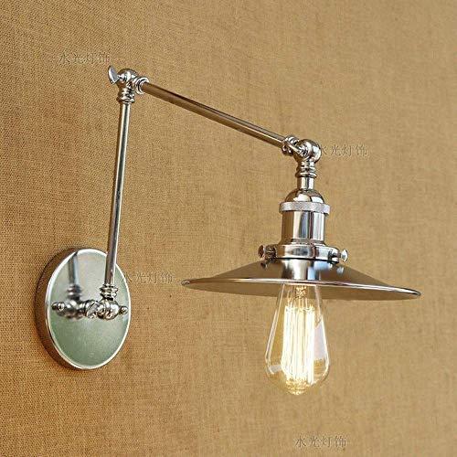 Lantaarn aan de muur wandlamp van kristalglas voorlicht verlichting met lange armen Village Wandlamp Village Wandlamp Mechanisch Wandlamp Wandlamp Wandlamp van ijzer Battut 30x30cm