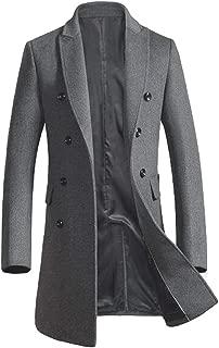 Best mens grey overcoat slim fit Reviews