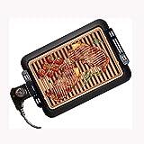 NXYJD Mokeless Cubierta Parrilla eléctrica portátil Coreana Barbacoa eléctrica-Planchas con Antiadherente extraíble Plancha Placa