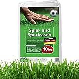 10 kg Rasensamen Sport- und Spielrasen Grassamen Sportrasen Rasen Spielrasen