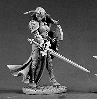 Reaper Miniatures Finari, Crusader (54mm) #01447 Unpainted Metal Mini Figure