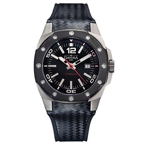 Davosa Swiss Titanio Hombres Reloj de Pulsera