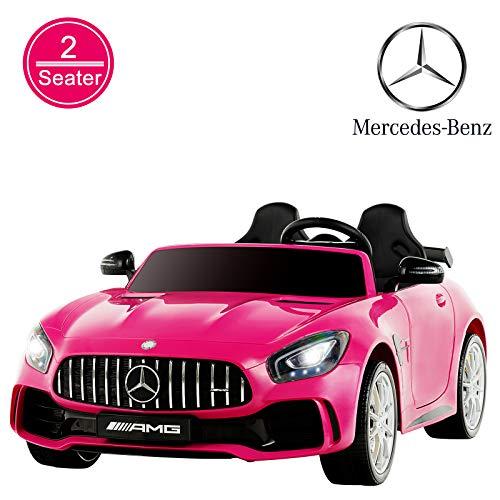 Uenjoy 2 Seater Kids Ride On Car Mercedes Benz
