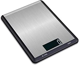 DYHOZZ Digital Kitchen Weighing, Stainless Steel Kitchen Electronic Scale 5kg Baking Household Electronic Scale High Precision Lightweight Kitchen Weighing Platform Scale 10kg