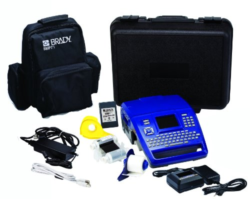 Brady BMP71-SC-QC BMP71 Label Printer with Soft Case, Quick Charger and USB Connectivity