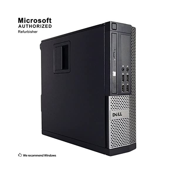 Dell OptiPlex 9020-SFF, Intel Core i5-4570 3.2GHZ, 16GB RAM, 512GB SSD Solid State, DVDRW, Windows 10 Pro 64bit (Renewed)