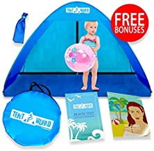 Baby Beach Pop Up Sun Shade Tent with UV Protection, Travel On The Go Sunshade Shelter..