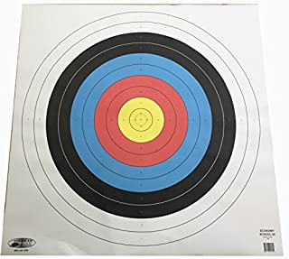 American Whitetail Paper Target Face-School Archery Face, White, 80cm