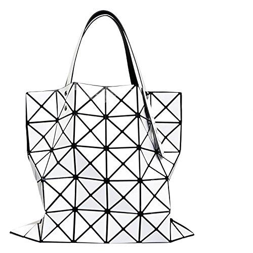 [セット品] BAO BAO ISSEY MIYAKE LUCENT BASICS トートバッグ 6×6 ホワイト 国内正規品 BAOBAO バオバオ イッセイミヤケ ルーセント ベーシック バッグ