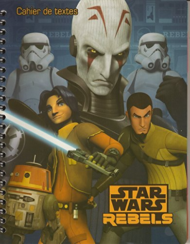 Rentree escolar–Cuaderno de Texto a espiral Star Wars Rebels
