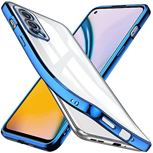 GESMATEKFunda Compatible con OnePlus Nord 2 5G GT Funda de teléfono de Silicona TPU Suave, Duradera, a Prueba de Golpes, Resistente a los arañazos. Azul.