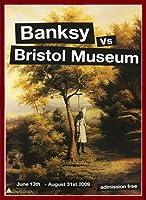 ポスター バンクシー basnksy bristol Hanging Klansman 2009 額装品 ウッドベーシックフレーム(レッド)