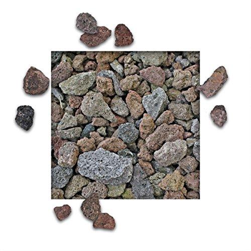 Kieskönig 10 kg Lava Splitt Pflanzgranulat Schneckenschutz Lavastein Lavasteine Aquarium Dachbegrünung Lavagranulat Körnung 16/32 mm