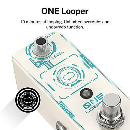 Donner ONE Looper Pedal de Efectos de Guitarra