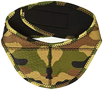 Zanheadgear ANP118 unisex-adult Airsoft Neck Protector  Woodland Camo  One Size Fits Most