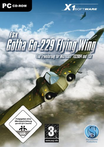 Gotha Go-229 Flying Wing - Add On für Microsoft FSX und FS2004 (PC)