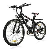 "VIVI 26""Elektro-Mountainbike 250W Elektrofahrrad 36V 8Ah Abnehmbare Batterie E-Bike 25KM/H 21..."